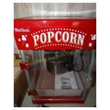"West Bend Popcorn Machine w/manual  17""T"