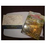 2 Books-  Civil War West Point Atlas & Harper