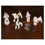 Porcelain Dog Figures