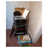 Organizer cart, office supplies, Stapler, etc. &