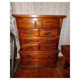"Chest of drawers w/6 drawers 19""d x 40""w x 56""t"