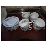 Royal Hostess Alyce china- 8 cups & saucers
