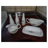 Royal Hostess Alyce china- salt & pepper shakers,