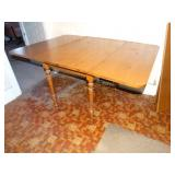 "Drop leaf table w/2 extra leaves 11 1/2"" ea. 41""w"