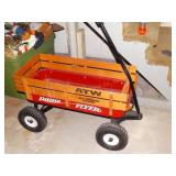 Radio Flyer Wagon  shows wear