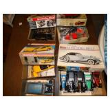 Asst. Plastic model car kits some NIB
