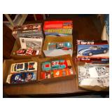 Plastic model car kits- Richard Petty, etc.
