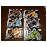 6 Auto model kits & 4 Speed Shotz model kits NIB