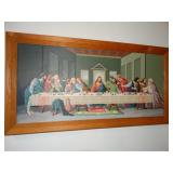 """Last supper picture, 18"""" x 34"""", paint by numbers?"""