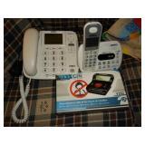 2 Uniden phones and a call blocker