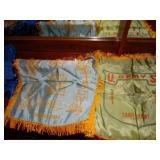 2 Camp Shelby military pennants