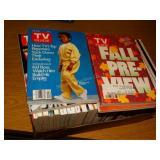 Box of TV Guide 1994, 1995, etc