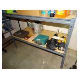"Storage shelf, no contents, 24""d x 48""w x 36""h"