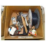 Wire brushes, coax cable, scrapers, hardware, etc