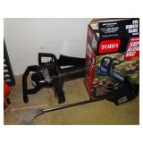 """Toro 7"""" cordless trimmer with super blower vacuum"""