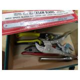 Adjustable wrench, vice grips, channel locks,