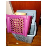 Hamper, clothes basket, trash can, etc