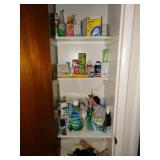 Contents of hall closet
