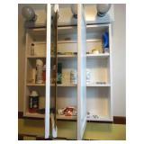 Contents of bathroom & linen closet