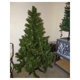 4.5 pine Christmas tree, fiber optic tree NIB and