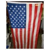 3 x 5 American Flag, shows wear