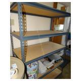 """Utility shelf, 5 shelves 24""""d x 48""""w x 72""""h,"""