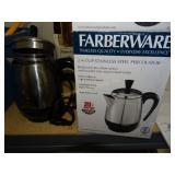 Farberware 2-4 cup Percolator, original box