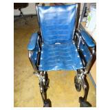Invacare wheel Chair, shows wear
