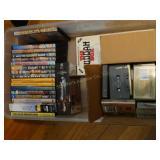 Patty Page cd, the Buddha box, railroad DVD, and