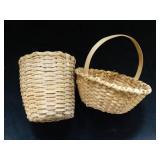Williamsburg Lucy Cook baskets, basket maker for