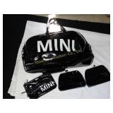 Mini Cooper travel bag w/small bags