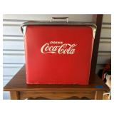 Antique Coke Cooler - All Original (pictures added