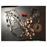2 Necklace and Earring Sets and Extras