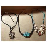 Three Necklaces