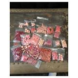 Large Lot of Pink Beads