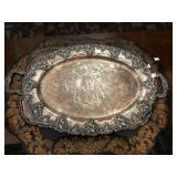 Oval Silver Platter
