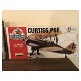 Curtis P6E Model Plane