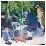 Checkers in the Park (France)