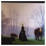 Woman with Cows