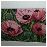 "Floral ""Poppies of Monhegan"""