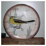 Bird Painted Plate