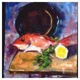 Fish on Cutting Board