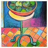 Green Fruit Bowl