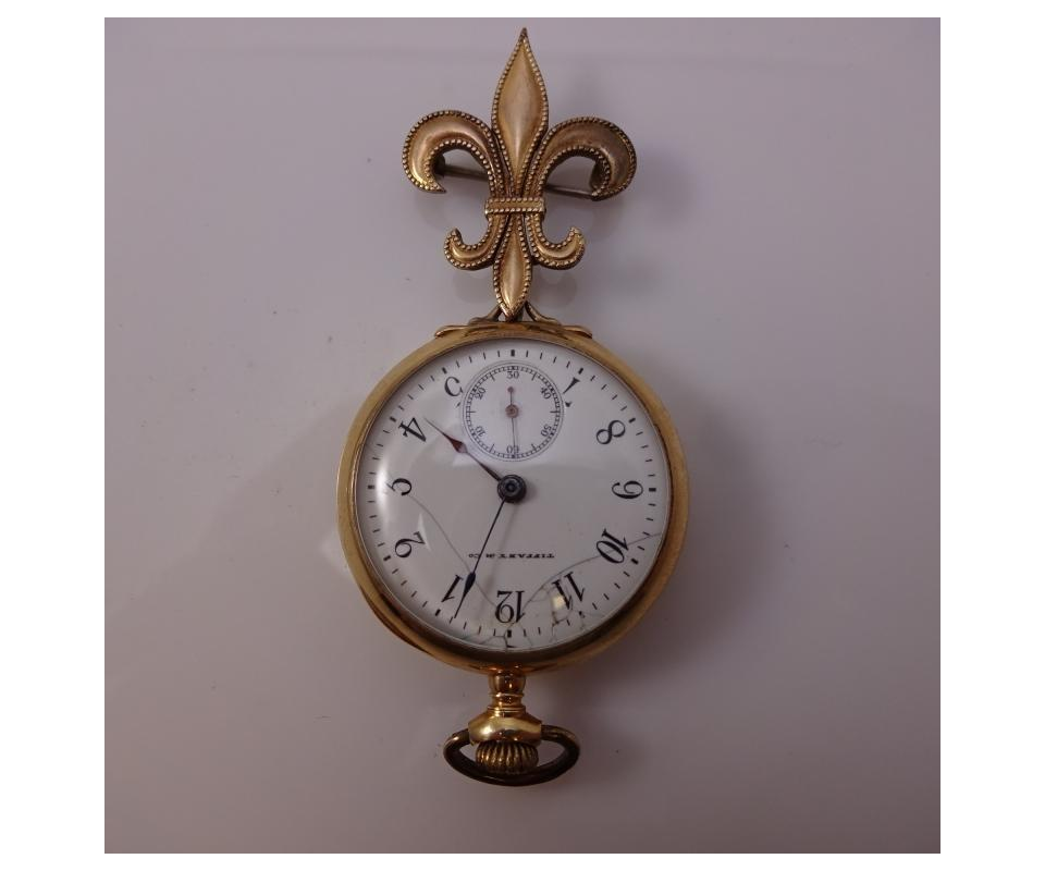 1901 Waltham Open Face Pocket Watch Size 18 Model 1883 Grade No.18 7j Dueber Cse Jewelry & Watches Pocket Watches