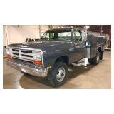 1987 Dodge Power Ram 350. Four Wheel Drive