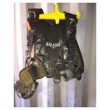 Seaquest balance oxygen tank vest