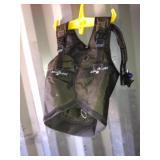 Seaquest vest oxygen tank holder size medium