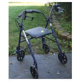 ROLLATOR INVALID WALKER W/ SEAT