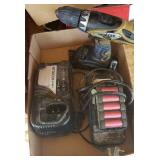 HITACHI CORDLESS DRILL, CHARGERS & BATTERY