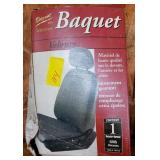 NEW IN BOX BAQUET SEAT COVER